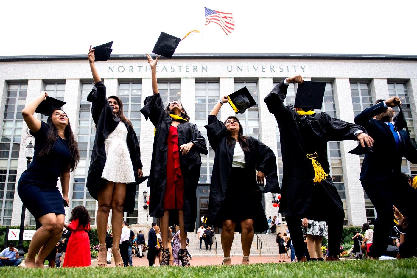 Northeastern University (Đại học Northeastern), top 40 đại học hàng đầu Mỹ