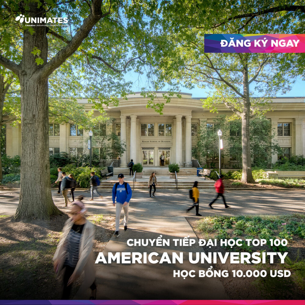 Du học Mỹ: Cơ hội chuyển tiếp vào ĐH TOP 100