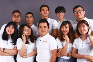 Đội ngũ nhân viên công ty UNIMATES Education Vietnam