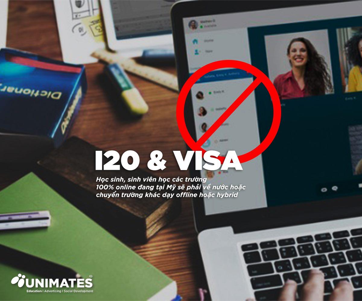 Hỗ trợ học sinh chuyển trường để giữ I20 và VISA