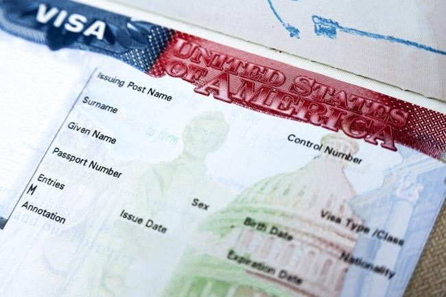 mẫu thị thực du học Mỹ sau khi phỏng vấn